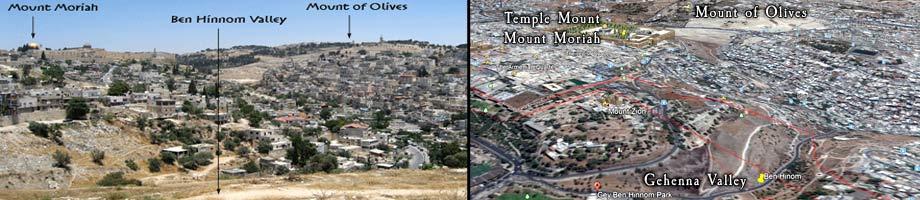Valley of Ben Hinnom / Gehenna