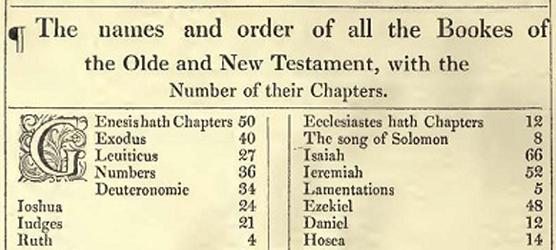 1611 KJV Bible