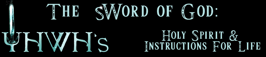 Sword of God Holy Spirit Instructions